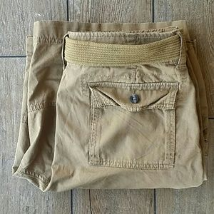MOSSIMO BELTED CARGO SHORTS